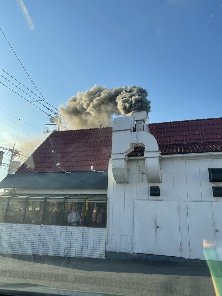 鎌ヶ谷 火事