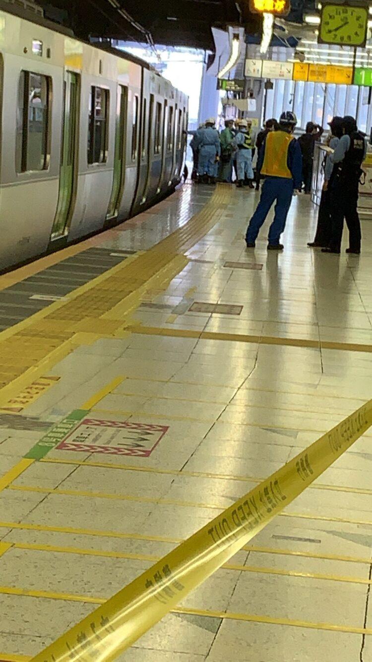 恵比寿 駅 人身事故